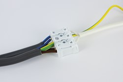 Integral Evofire Low Profile Fire Rated Fixed Downlight  with GU10 Holder + Terminal Block- White