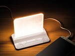 Integral LED USB Powered Desk/Table Light & pass-through charger