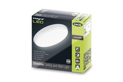 Integral Slimline 25W Non Dimmable Ceiling and Wall Light - Cool White