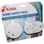 Kidde Carbon Monoxide Alarm & Smoke Detector Twin Pack