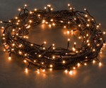 Konstsmide 120x Micro LED COPPER/ORANGE fairy lights, 8.3m, Christmas Festive