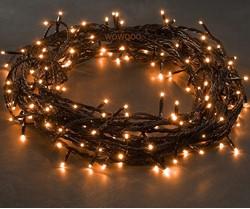 Konstsmide 120x Micro LED COPPER/ORANGE fairy lights, 8.3m, Christmas Festive - 3631-860