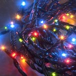 Konstsmide 80x MICRO LED MULTICOLOURED fairy lights, 5.5m, Christmas Festive
