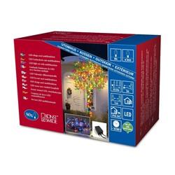 Konstsmide 80x MICRO LED MULTICOLOURED fairy lights, 5.5m, Christmas Festive - 3630-500
