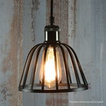 Lamp Cage - Dome - Black
