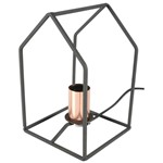 Lamp Cage - House Shape Desk Lamp