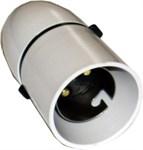 White Cord GripLampholder