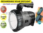 LED Rechargable & Solar Spotlight Torch Light