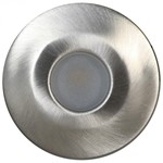 LUXFORM - Alpha Deck Light - Stainless Steel -Med