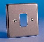 MK K3491Alm 1Gang Grid Plate