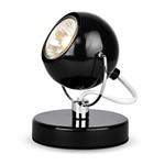 Modern Gloss Black Eyeball Spot Desk Table Lamp