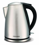 Morphy Richards 43615 Stainless Steel Jug Kettle, 1.7L- 3 KW