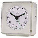 Piper Radio Controlled Alarm Clock - White