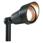 Plug & Play Focus Black Outdoor Garden Mounted/Spike Light Spotlight