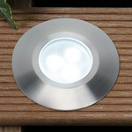 Plug & Play Alpha Cool White LED Recess Outdoor Garden Decking Light