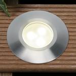 Plug & Play Alpha Warm White LED Recess Outdoor Garden Decking Light