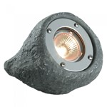 Plug & Play Lapis Grey Rock Submersible Outdoor Spotlight Garden Light