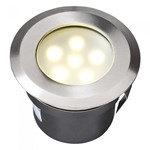 Plug & Play Sirius White LED IP68 Recess Outdoor Garden Decking Light