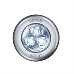 Silver DOT IT Push On Battery Light