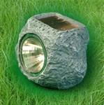 Small Mini Garden Solar Independant Rock Light