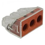 Wago 773 Series 25 - 60mm 3 Pole Push Wire Connector