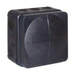 Wiska Black Waterproof Box Enclosure - IP66 (76 x 76 x 51mm)